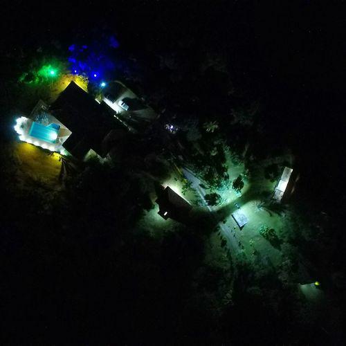 Illuminated Night Dark Outdoors No People Outline RHG Burucuca