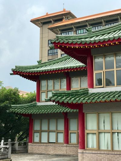 Architecture Built Structure Building Exterior Building Place Of Worship Belief Low Angle View Religion Spirituality No People Nature Sky Roof Day Outdoors Travel Destinations Pagoda