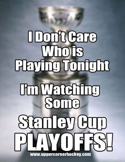 I missed tonight's game tho. ?? Stanley Cup BecauseItsTheCup LoveHockey
