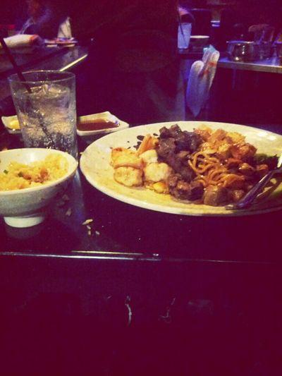 ahhhh food view ^_^
