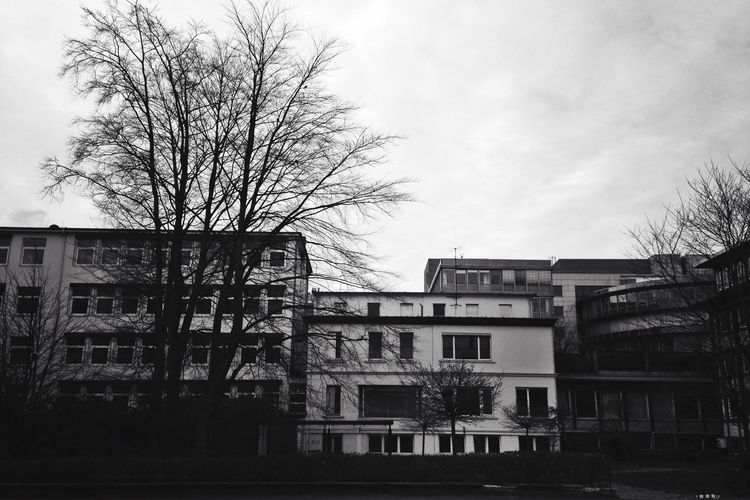 Industrial Blackandwhite Urban Ruhrpott