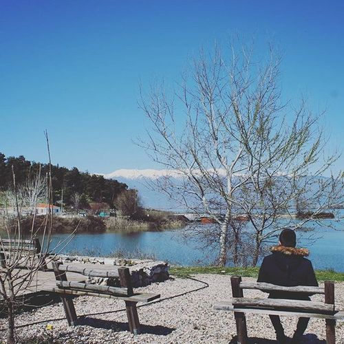 Absolute nothing.. Catherine_d_milosevich_photography Travelstory LakeKerkini Serres Gr Chronicleofatravel Lakeview Naturebeauty