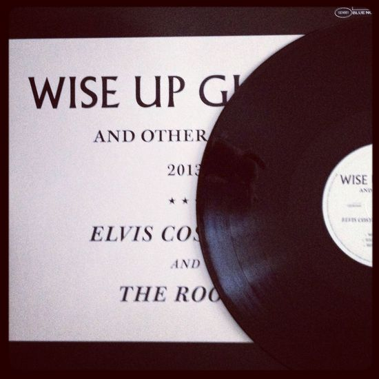 """Now spinning Elvis Costello and The Roots """"Wise Up Ghost and other Songs"""" Elvis Costello My Vinyl Collection Vinyl Music"""