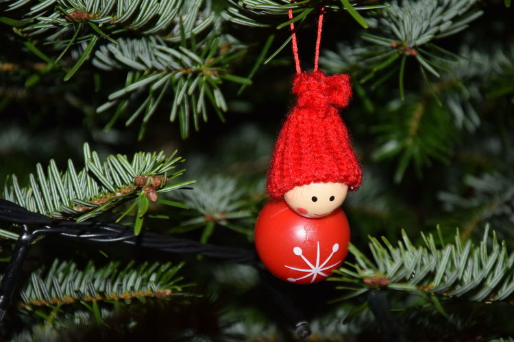 Branch Celebration Christmas Christmas Decoration Christmas Ornament Christmas Tree Close-up Cultures Day Family Fir Tree Friends Hanging Holiday Holidays Indoors  Joy No People Red Tradition Tree Wool Xmas