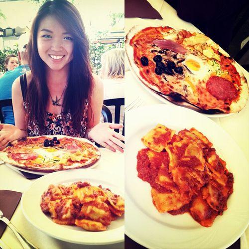 Enjoying Life Enjoying A Meal Rome In My Mouf