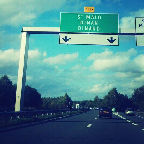 Saint Malo, nous voilà !