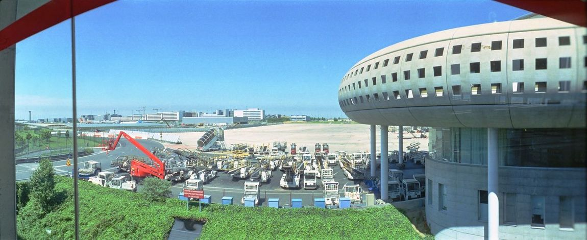 Aeroport Charles De Gaulle Paris Traveling Lomography Horizon Perfekt