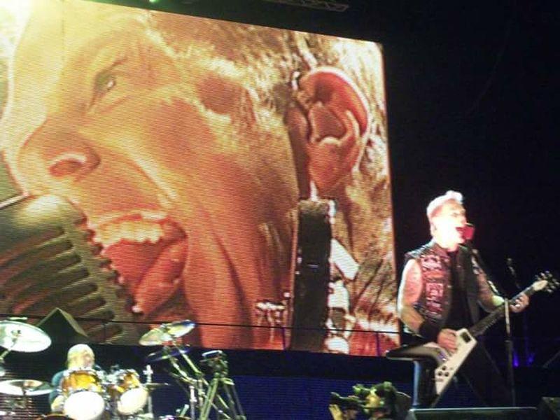 Metallica! James Hetfield Sonisphere Warsaw Bemowo 2012