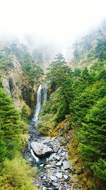 The Fall, Chi-Lai mountain trail, Taiwan The Great Outdoors With Adobe Mountains Nature Photography Waterfall Waterfall_collection