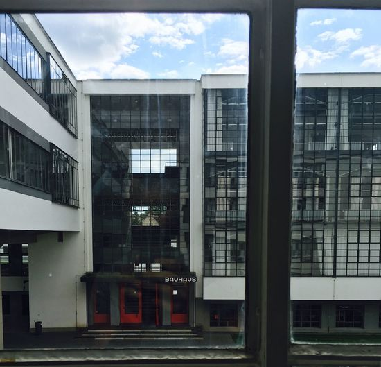 Bauhaus Dessau Bauhaus Window View Window