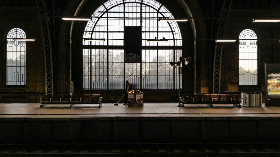 Interior Of Train Station