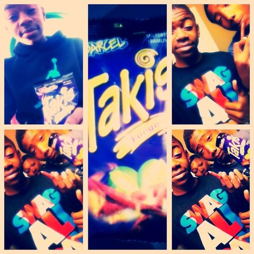 Eating Takis Wid My Cousins