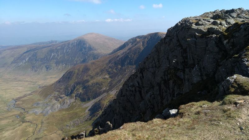 From Snowdon Landscape Outdoors Beauty In Nature Snowdonia
