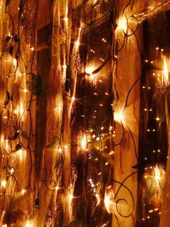 Illuminated Electricity  Christmas Night Christmas Lights Gold Colored Christmas Ornament Christmas Bauble Ukraine Kiev