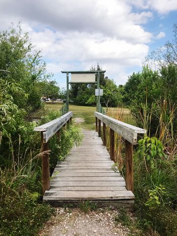 Nature path Outdoors Nature Sky Plant Cloud - Sky The Way Forward Tree Direction Nature Day Growth Architecture Footpath Built Structure Green Color Outdoors No People Sunlight Tranquility Beauty In Nature Railing Wood - Material