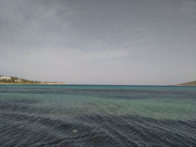L-Ghadira Malta Mediterranean  Mediterranean Sea Day Ghadira Horizon Over Water Nature No People Rippled Scenics Sea Sky Tranquil Scene Tranquility Water