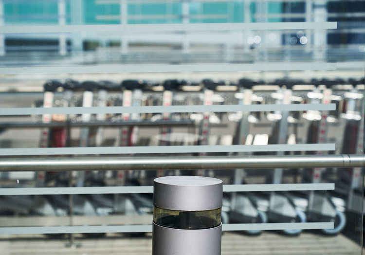 Packed Abstract Pattern Airport Terminal Travel No People Architecture Metal Travel Airport Architecture Blurred Motion Built Structure Business Cart Close-up Container Equipment Focus On Foreground Indoors  Metal Motion No People Selective Focus Shelf Silver Colored Still Life Technology Silver - Metal Brushed Metal