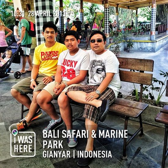 With my Boys #instaplace #instaplaceapp #instagood #photooftheday #instamood #picoftheday #instadaily #photo #instacool #instapic #picture #pic instaplacemobi #place #earth #world #indonesia #ID #gianyar #balisafari&marinepark #park #outdoors #street #da Pic Instamood Street Id InstaPlace Picture INDONESIA Instagood Photo Instadaily Day Instapic Place Instacool Outdoors Instaplaceapp Earth Gianyar Park World Balisafari Photooftheday Picoftheday
