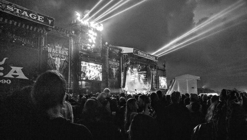 Crowd Concert WackenOpenAir2016 Music Festival Outdoors