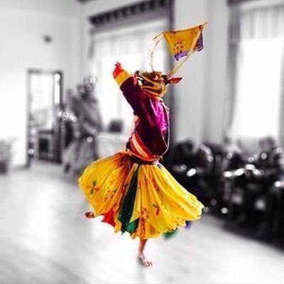 Bhutanese Traditonal Masked Dances Hello World Relaxing Colors