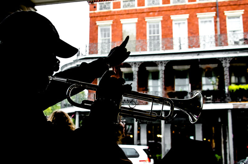 New Orleans music New Orleans Jazz New Orleans Music Jazz JazzMusic Trumpet Silhouette Silhouettes Silhouette_collection Silhouettes Of People