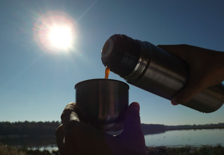 Travel Travel Photography Coffee Human Hand Astronomy Research Sky Close-up EyeEmNewHere