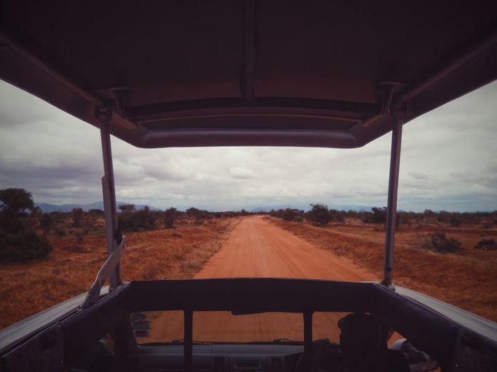 Safari. Tsavo East, Kenya. Landscape Safari EyeEm Best Edits EyeEm Best Shots Adventure VSCO Travel Travel Destinations Kenya Africa Beauty In Nature Tsavo