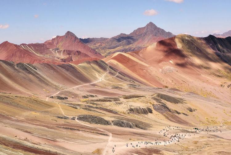 Peru - rainbowmountains - montana vinicunca