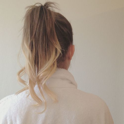 Hair Hairstyle Haircut Blonde Brunette Ombre Girl