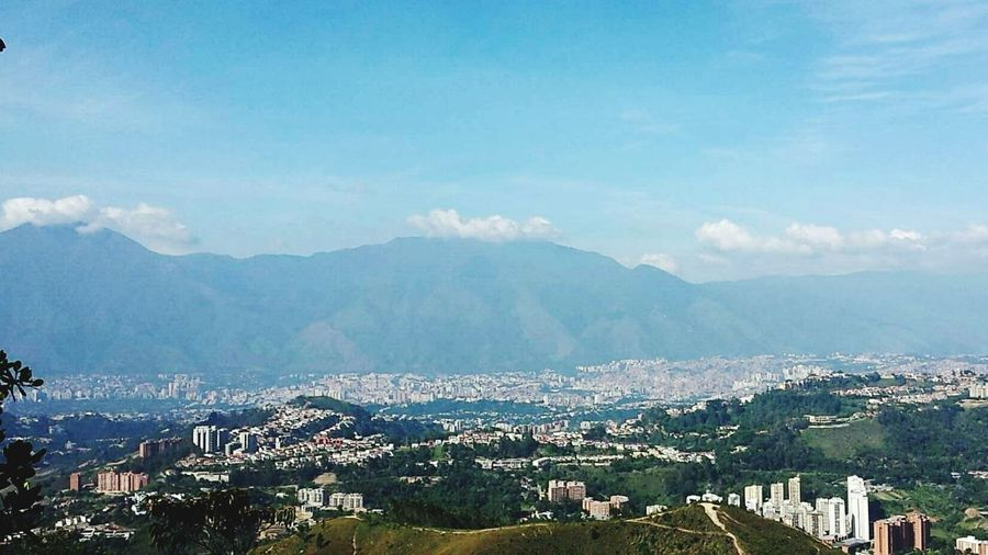 View of El Ávila from El Volcán. Enjoying Life First Eyeem Photo Montagne Mountain View Mountain_collection Bestoftheday Bestshot Mountainscape Scapetothecity Clouds Collection Nature Nature On Your Doorstep Nature_perfection Nature's Diversities Nature Beauty