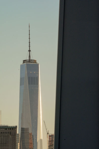 One World Trade Center seen from the Whitney Museum Balcony at sunset... 9/11 Memorial Architecture High Above International Landmark New York Newyork One World Trade Center Oneworldtradecenter Sunset Tower Whitney Museum Showcase: November Picturing Individuality The Best Of New York Seeing The Sights