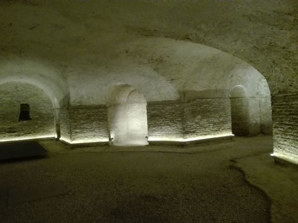 Arch Architecture Indoors  Built Structure No People Cellar Day