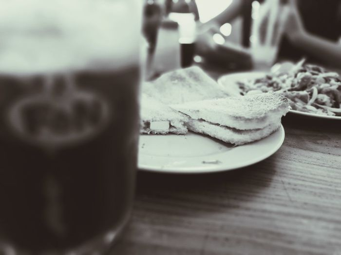 Monochrome Photography Food And Drink Close-up Freshness
