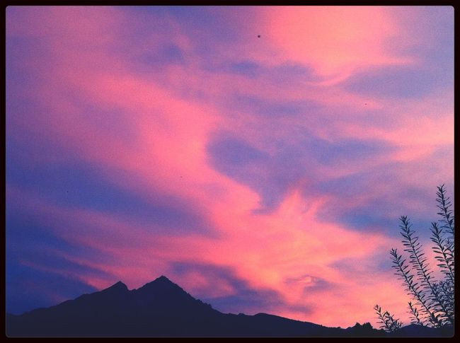 Abendrot Sunset Sundown Red