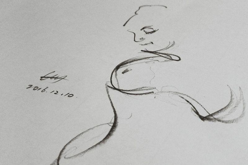 2016/12/11美术联考加油!Drawing - Art Product Bird No People Drawing - Activity Day Quick Sketch Sketch