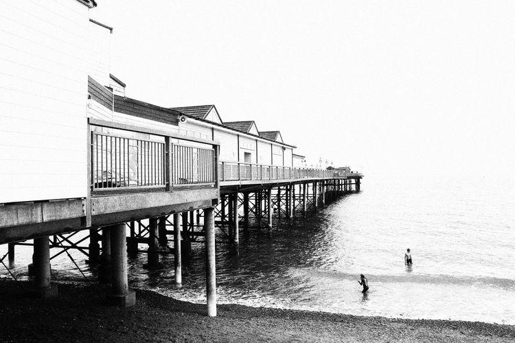 Pier Water Sea