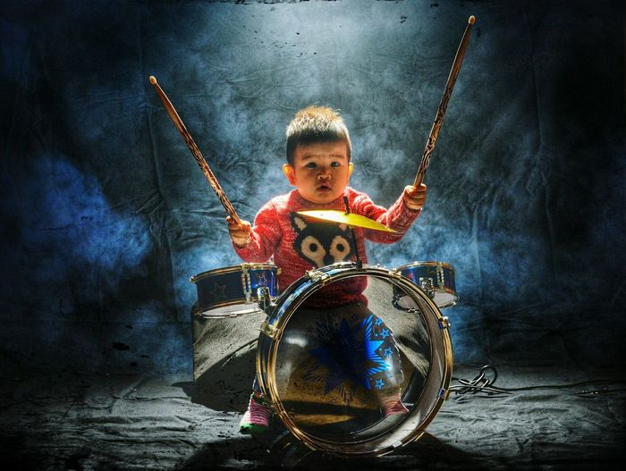 Showcase: November Drummer Kidsphotography Smoke Fog Machine Nomusicnolife