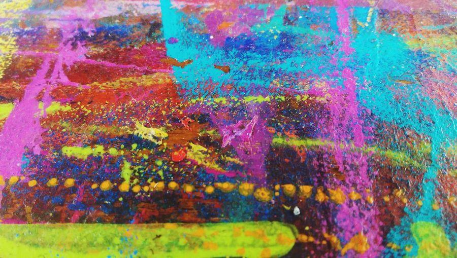 Colour Explosion Artists Life Colours
