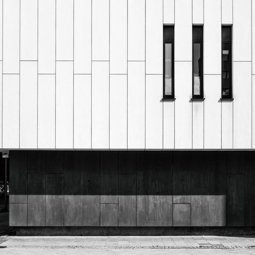 Minimalist Architecture The Week On EyeEm Architecture Berliner Ansichten Black And White Bnw Building Exterior Built Structure City Communication Day Minimalism Minimalistic No People Outdoors Shadows Straight Lines