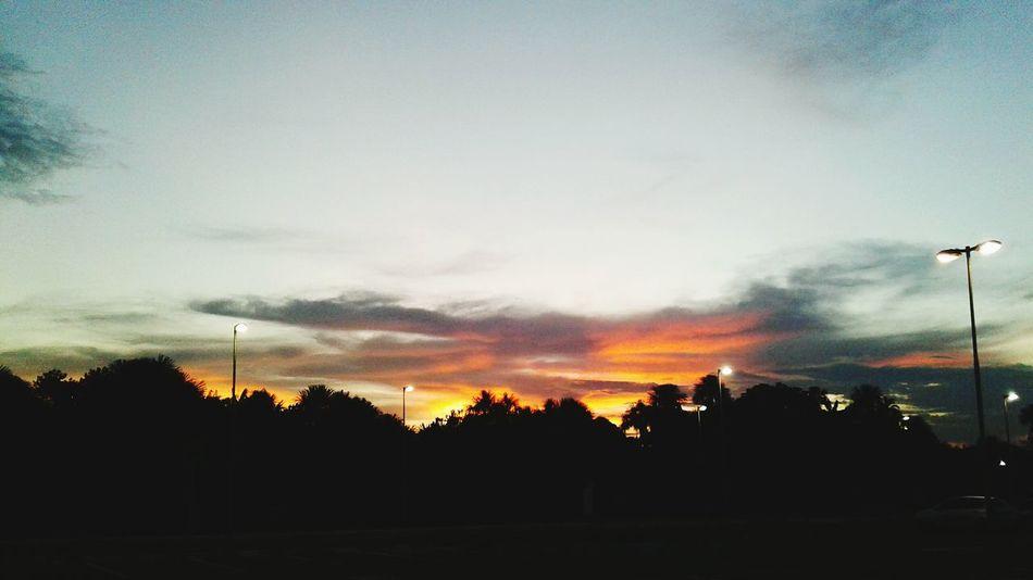 Sunset Nature Sky Boa Vista Roraima Landscape