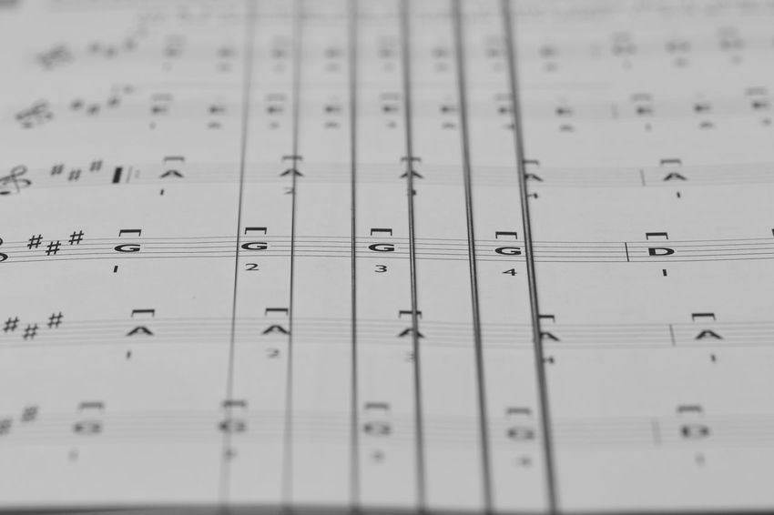 Arrangement Backgrounds Close-up Harmony In A Row Indoors  Learning Melody Music Music Brings Us Together Music Is My Life Music Notes Rhythm Sheet Music Strings TAB