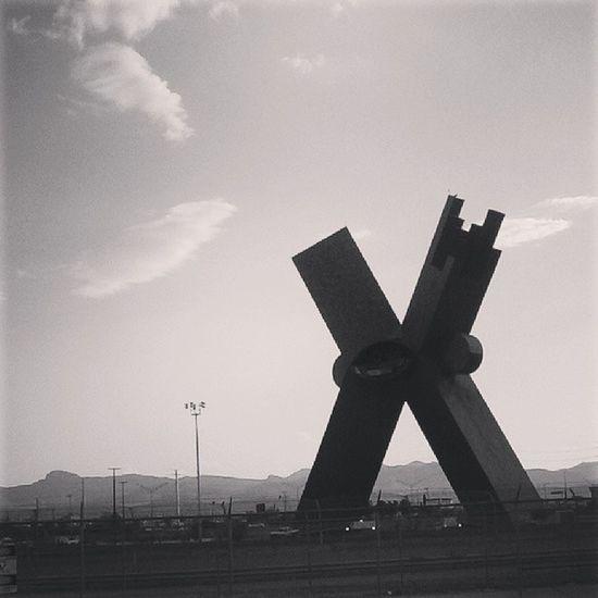 Cdjuarez X Icon Borderland metropolis sculpture architecture monument neighbor