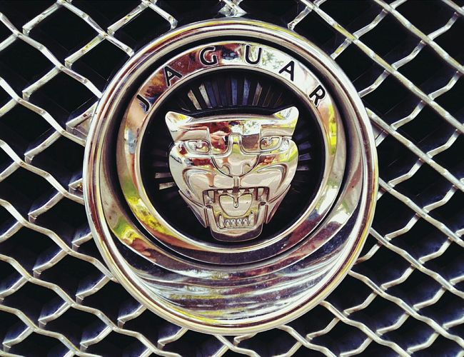 Jaguar on Cambrils Cars Drive No People Day Fastcar JAGUAR Jaguar E-Type Jaguar F-Type Jaguar XKR-S Jaguar X-type Full Frame Close-up Circle Geometric Shape Day Outdoors Man Made Object Circular No People