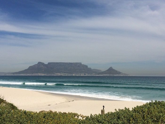 Tablemountain Scenery Capetown