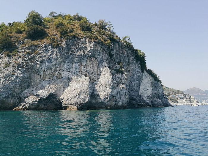 Amalfi Coast Salerno Beauty In Nature Costiera Amalfitana Day Italy Mountain Nature No People Outdoors Scenics Sea Sky Tranquility Water Waterfront