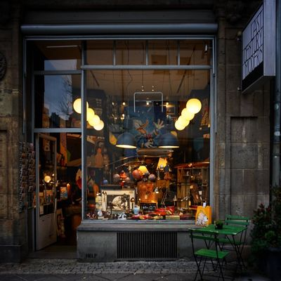 Last century modern in Frankfurt's street Germany CityWalk Frankfurt Windows Windowshopping Vintage Architecture City