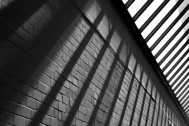 Architecture Architecture Brick Brick Wall Built Structure Geometry Indoors  Light Light And Shadow Look Up Roof Shapes Simple Forms Sunbeam Sunroof Structure Stonewall