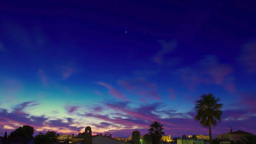 Blue Miami Platja- Tarragona- Sky Sky And Clouds Sunrise In Miami Platja