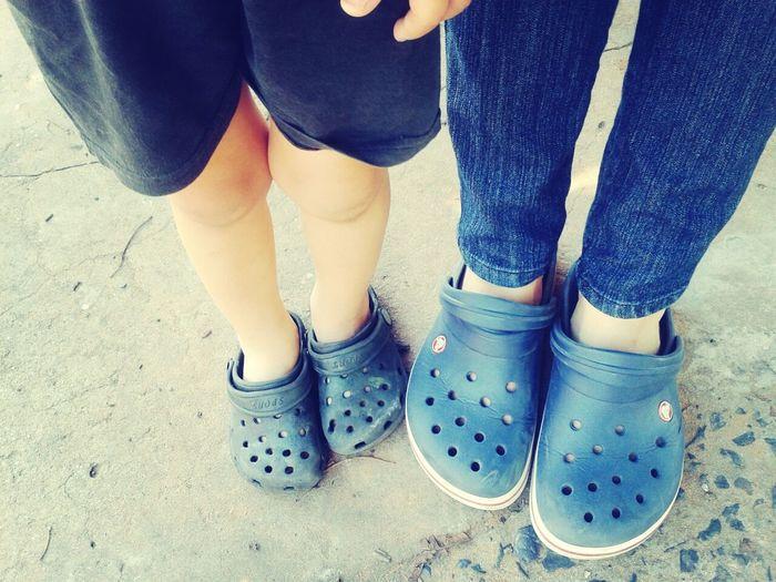 our Crocs :)