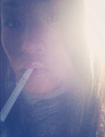 G O D Z I L L A That's Me Selfportrait Smoking